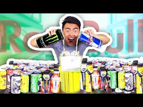 Thumbnail: Do Not Mix 50 ENERGY DRINKS Together!