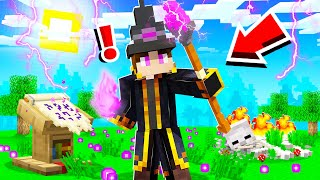 BECOMING the STRONGEST WIZARD in CAMP MINECRAFT!