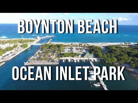 Boynton Beach Ocean Inlet Park and Beach - Thanksgiving 2016 VLOG #1