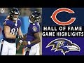 Bears vs. Ravens | NFL 2018 Hall of Fame Game Highlights
