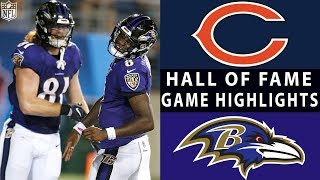 Bears vs. Ravens | NFL 2018 Hall of Fame Game Highlights