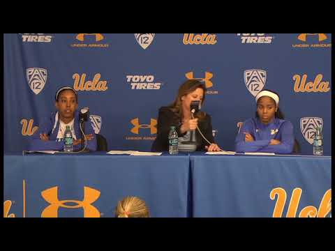 UCLA W. Basketball Postgame Press Conference - 2.22.18