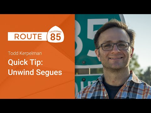 Quick tip: Unwind Segues in Storyboards (Route 85)