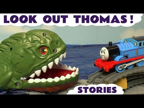 Thumbnail: Thomas & Friends Train Toys for Kids - Toy Stories with Spider-man Iron Man & Kinder Surprise TT4U