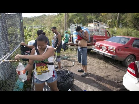 Weeks after Maria, much of Puerto Rico without water or power