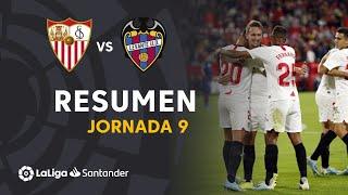 Resumen de Sevilla FC vs Levante UD (1-0)