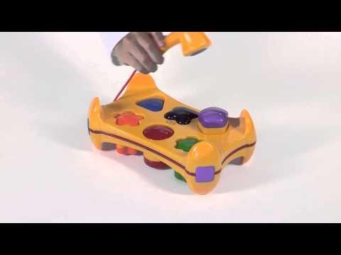 Tolo Toys Shape Sorter Play Bench Demo