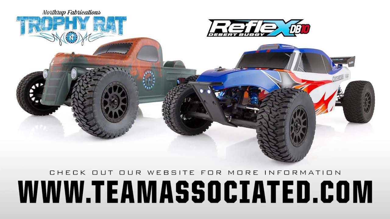 Team Associated Trophy Rat & Reflex DB10