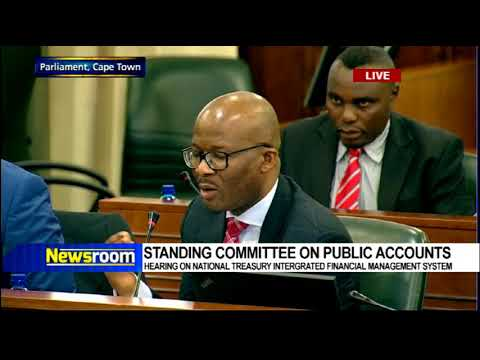 SCOPA meets national treasury on financial management system Part 1