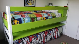 Bunk,trundle  Bed