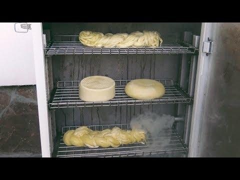 Сыр холодного копчения в домашних условиях
