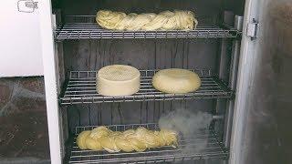 Холодное копчение сыра