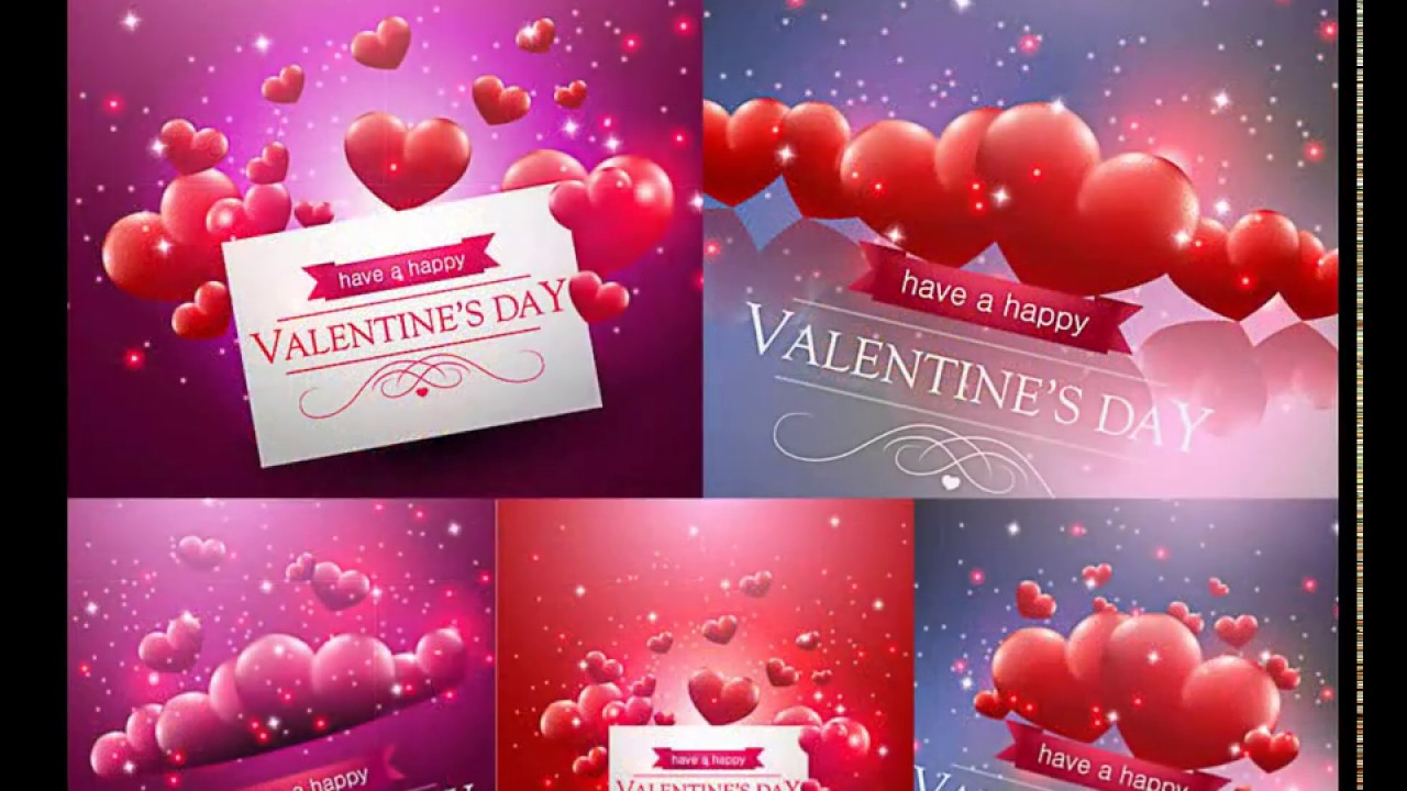 Vector graphics Valentine cards banners backgrounds hearts – Download Valentine Card