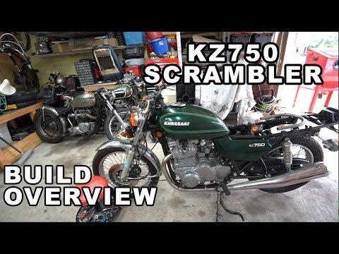 1982 Kawasaki 750 Ltd Rebuild Part 19 Concealing The Wiring Youtube