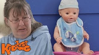 Baby Toy Vomit Prank!