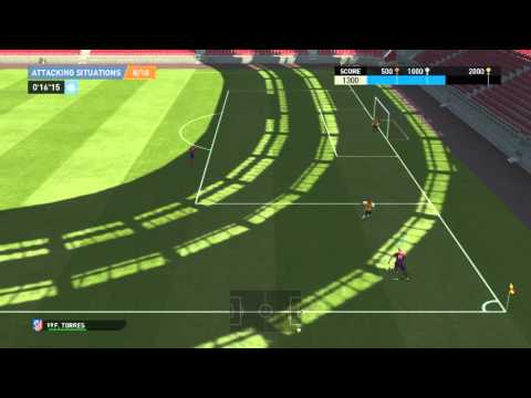 PES 2016 Attacking Situations Gold