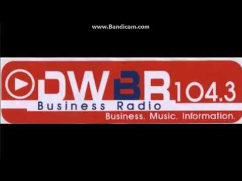 "DWBR 104.3 FM ""Business Radio"" (now FM2) - Station ID 2007"