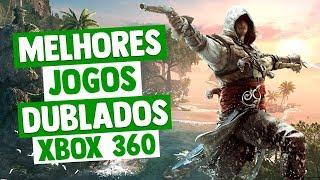 MELHORES JOGOS DUBLADOS DO XBOX 360