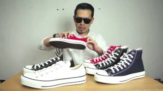 CARNIVAL TV : รีวิว รองเท้า Converse All Star Made in Japan Collection