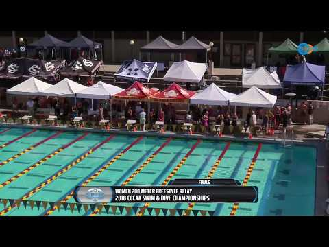 CCCAA Mens & Women's Swimming State Championship Finals LIVE 5/3/18