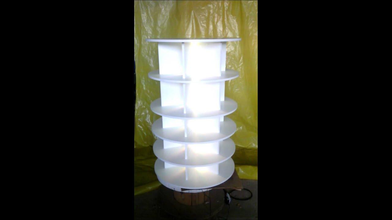 Sapateira rotativa com ilumina??o LED - YouTube
