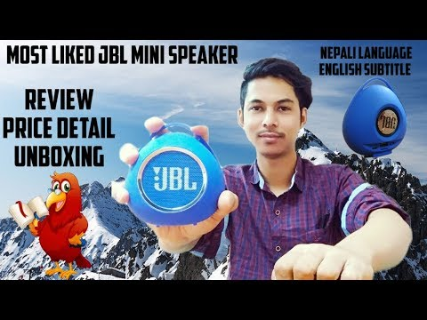 Mind-blowing Jbl mini bluetooth speaker/unboxing/price/review