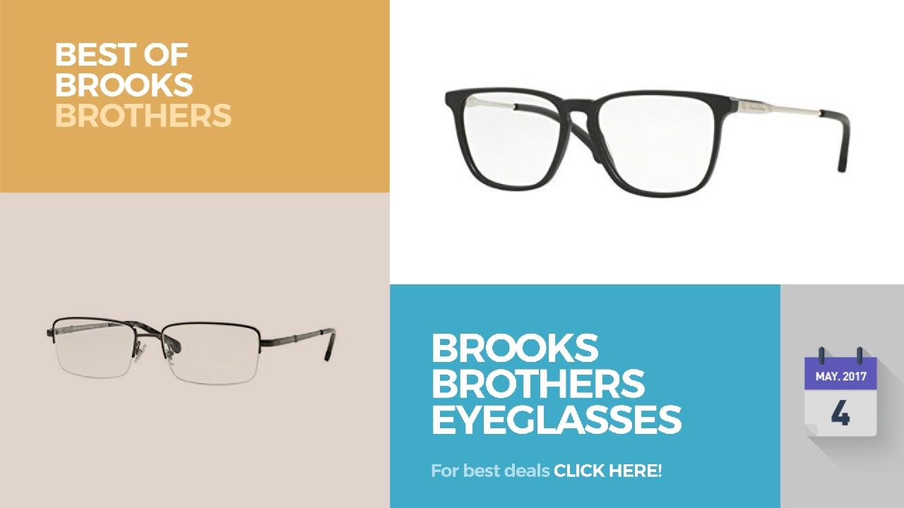 bed6efe4df Brooks Brothers Eyeglasses Best Of Brooks Brothers - YouTube