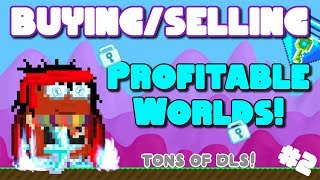 BUYING/SELLING PROFIT WORLDS!! (BUY+ worlds)| Growtopia