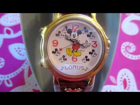 Lorus Mickey Mouse Musical Watch 1