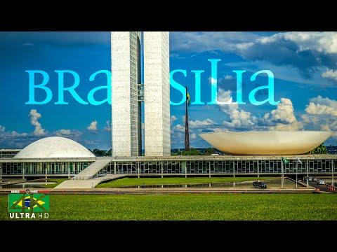 【4K】EXPLORE: «Brasilia - Capital of Brasil» | Brazil 2020 | UltraHD Travel Video