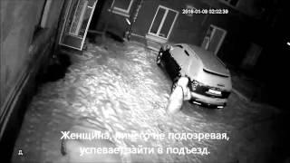 Преследование женщины в центре Чернигова(, 2016-01-15T11:56:31.000Z)