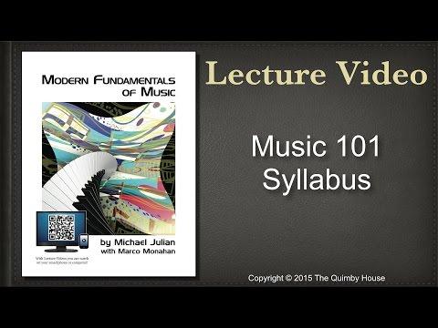 Music 101 Syllabus