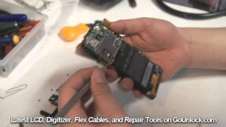 HTC One X Endeavor Screen Repair Disassemble Take Apart Video Guide