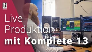 Live Produktion mit Native Instruments Komplete 13