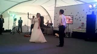 Оригинальный танец на свадьбе Алексея и Елены