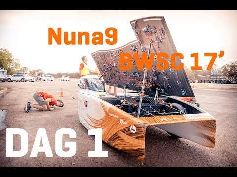 DAG 1 - Bridgestone World Solar Challenge Nuna9 (Live Feed)