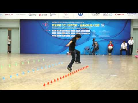 KSJ 's Epic Moment in 2011 Shanghai Grand Prix of Freestyle Roller Skating