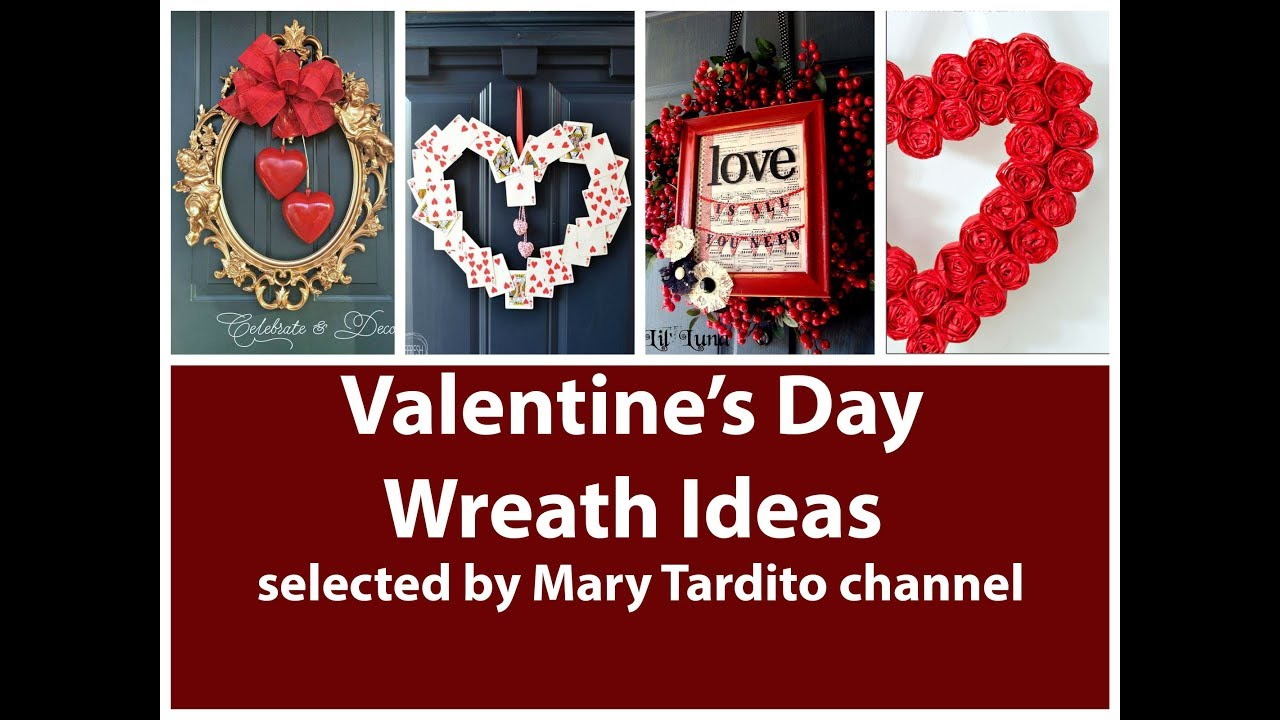 Beautiful Valentines Wreath Ideas