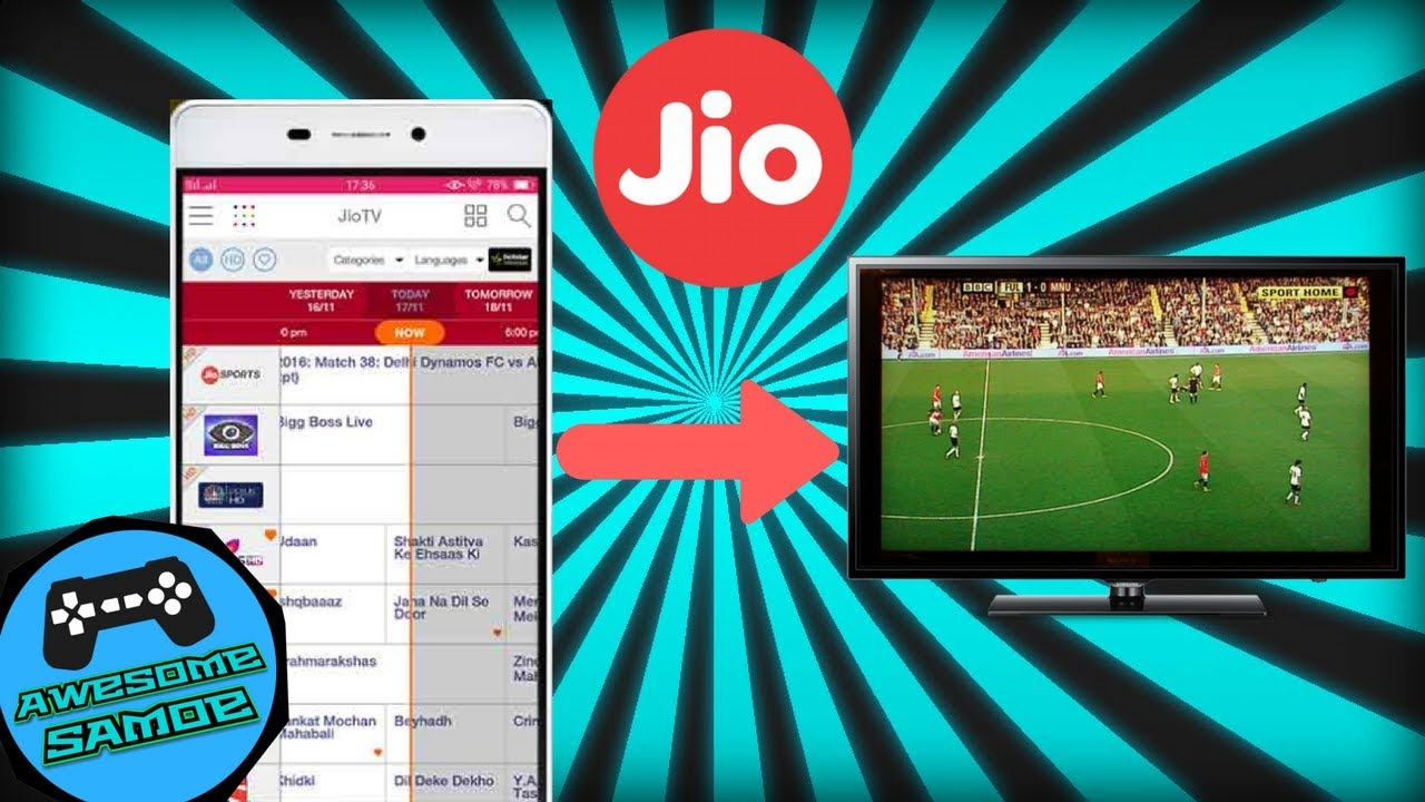 Tv Pc Kast.How To Watch Jiotv On Television Cast To Tv 3 Easy Steps