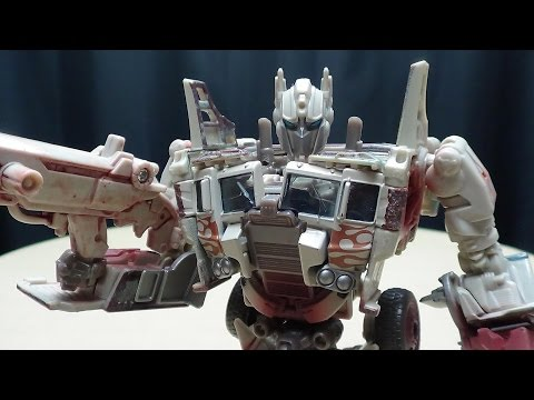 Takara Age of Extinction Voyager RUSTY OPTIMUS PRIME: EmGo's Transformers Reviews N' Stuff