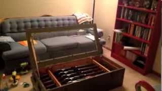 Mosin Nagant Crate Coffee Table