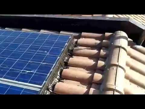 sistema multifunzionale allontanamento piccioni su tetto