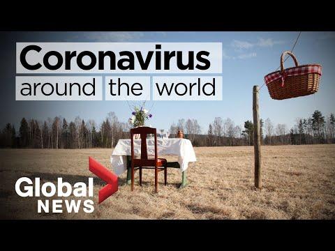 Coronavirus around the world: May 11, 2020