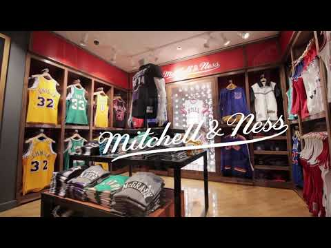 Mitchell & Ness At The NBA Store On 5th Ave In New York