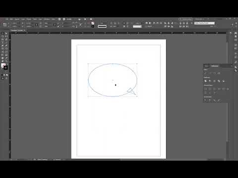 InDesign Shape Tool: How To Make A Speech Bubble
