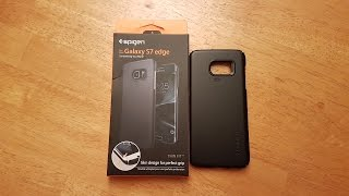 review of the spigen thin fit case for the samsung galaxy s7 edge