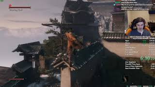 Sekiro Any% Speedrun in 26:25 (World Record)