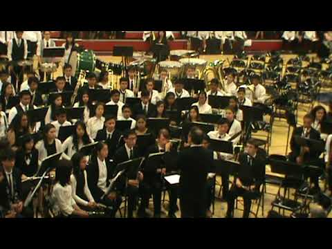 "American High School Symphonic Band ""Prelude on Old English Hymn"" by Robert Sheldon"