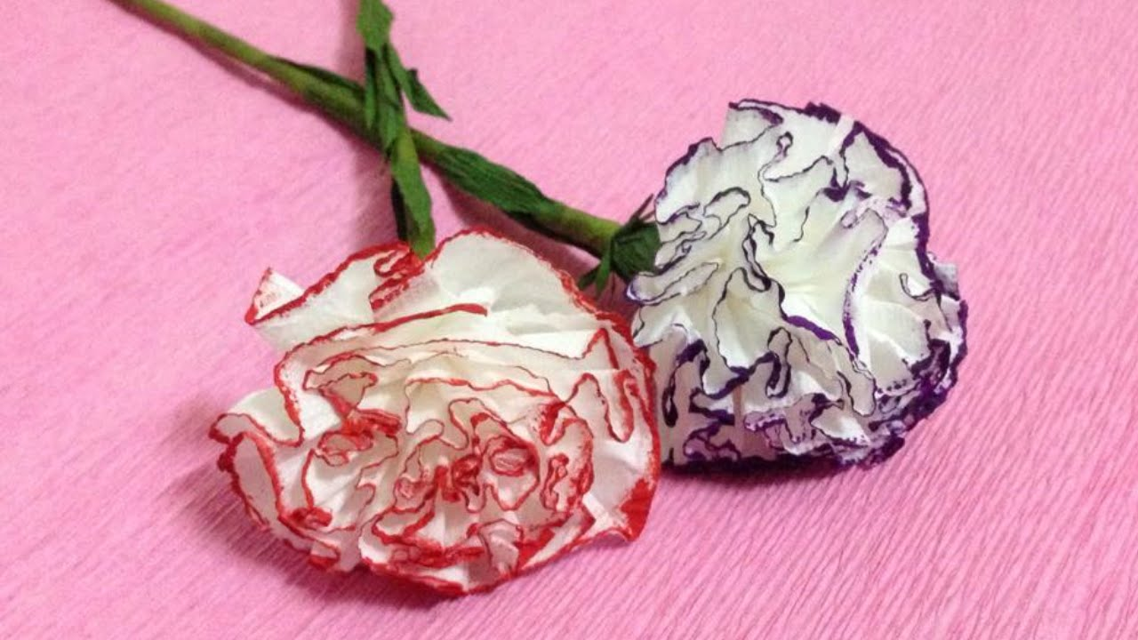 Tissue Paper Flower Making Trisaorddiner