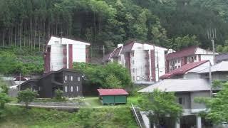 【側面展望】485系「リゾートやまどり」快速谷川岳もぐら号越後湯沢行き 水上→土合